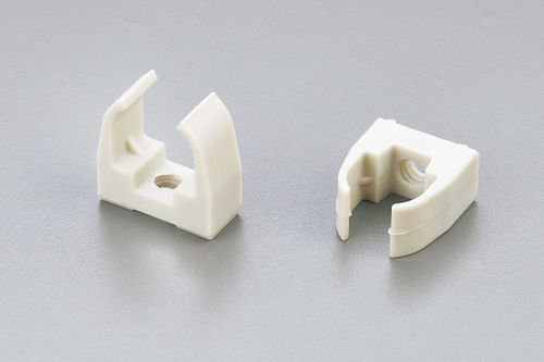 cable clip / plastic / fixing
