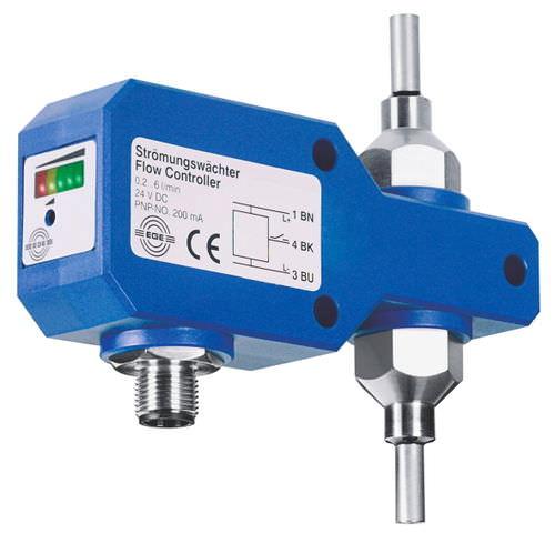 thermal flow sensor / for liquids / analog output