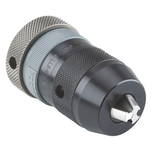 SK drill chuck / self-tightening / thread / with rapid coupling