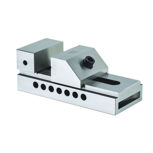 grinding machine vise / low-profile / precision / steel