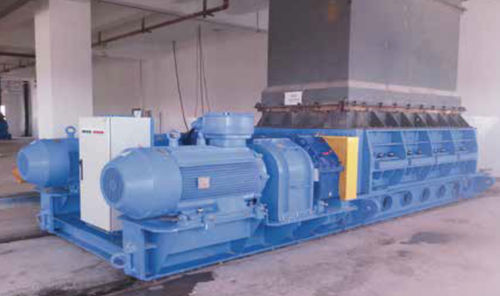 double-roller crusher