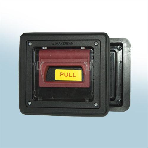 flush handle / door with lock / rubber