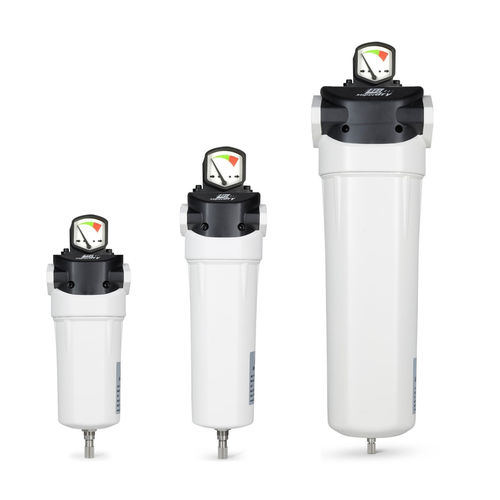 compressed air filter / cartridge / activated carbon / high-efficiency