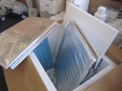 rectangular box / polypropylene / thermal protection / UV-resistant
