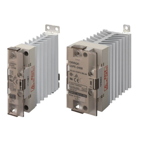 single-phase solid state relay / AC / compact / DIN rail