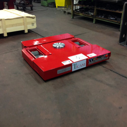 heavy load moving skate / self-propelled / battery-powered