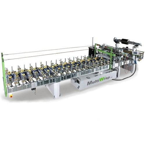 horizontal wrapping machine / manual / for profiles