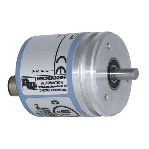 incremental rotary encoder / optical / digital / RS-422