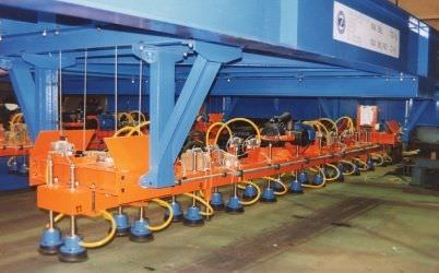 manipulator with suction cup / vacuum / for sheet metal