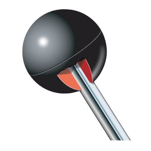threaded knob / ball / phenolic resin