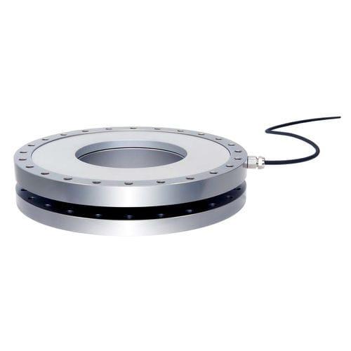 compression force sensor / through-hole
