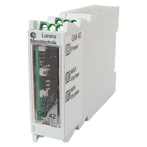 signal amplifier / DIN rail / electronic / for strain gauge sensors