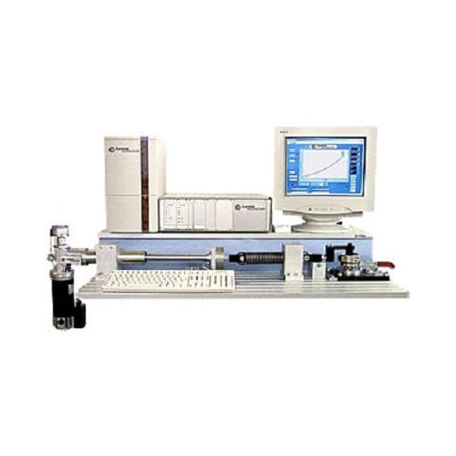 multi-parameter test machine / for springs / mechanical