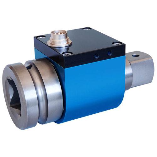 rotary torque sensor / square drive / slip ring / high-accuracy