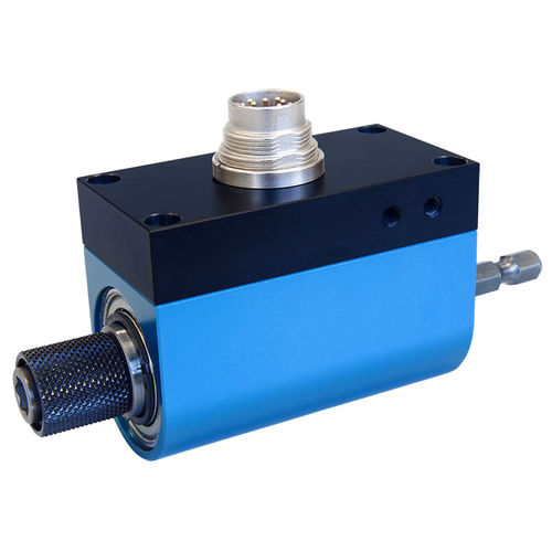 rotary torque sensor / hex drive / slip ring / high-accuracy