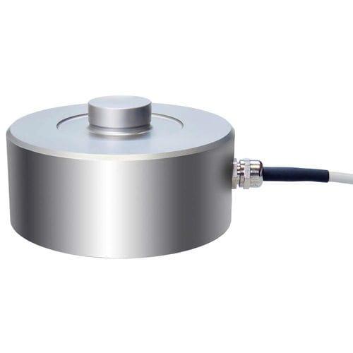 tension force sensor / button type / strain gauge