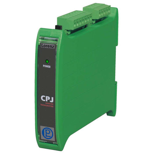 signal amplifier / measuring / DIN rail / electronic