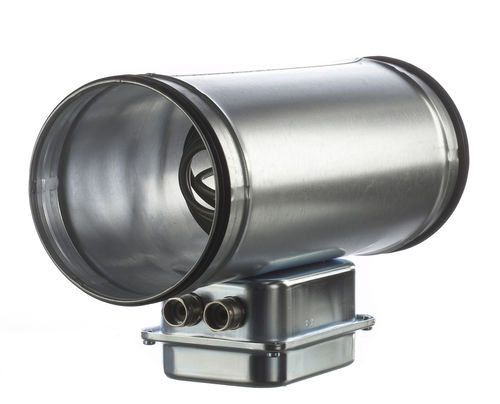 air heater / duct / convection / electric