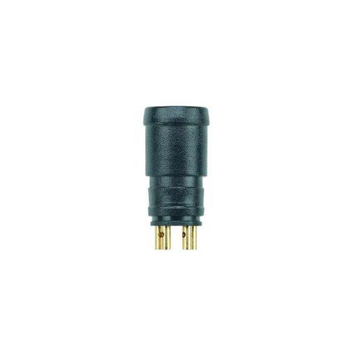 panel-mount connector / data / circular / male