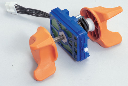 selector switch / multipole / control / electromechanical