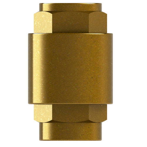 female-female check valve