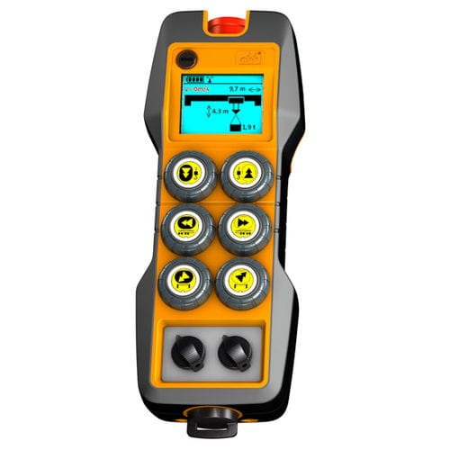 radio remote control / 6-button / with configurable buttons / IP65