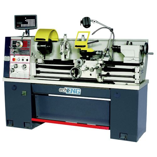 2-axis lathe / 1-spindle / with turret / for metal