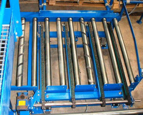 pallet transfer system / container