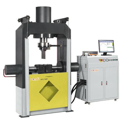 bending testing machine / horizontal / compact / automatic