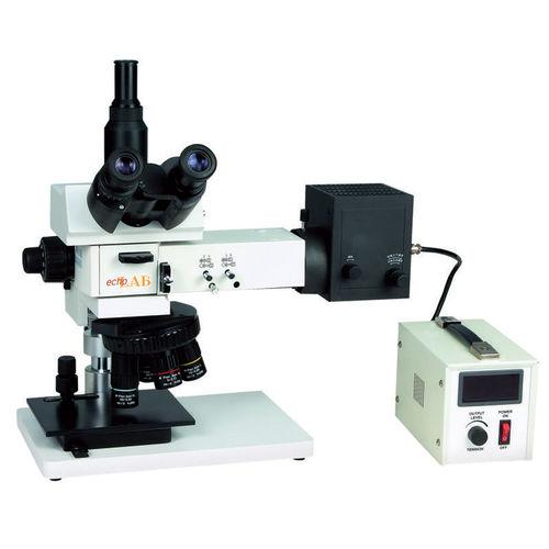 analysis microscope / upright / benchtop / trinocular
