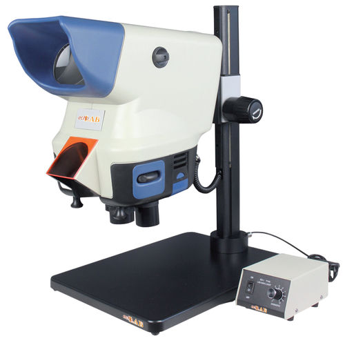 analysis stereo microscope / optical / LED illumination