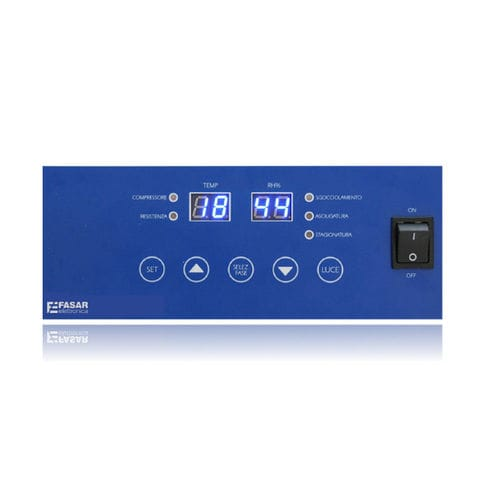 temperature indicator controller / humidity / digital / LED