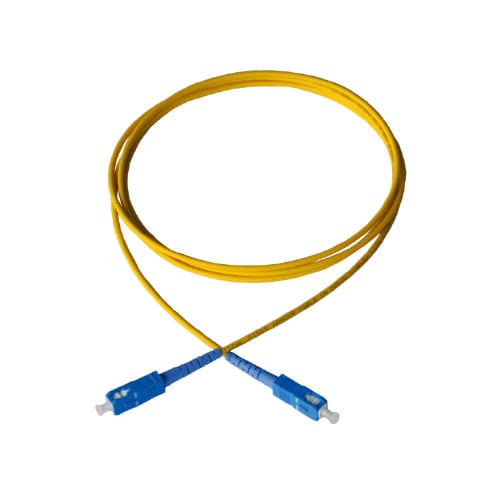 Fiber optic patch cord / FC type / SC type / single mode - Q-Fiber
