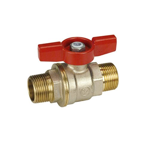 ball valve / manual / for water / for steam