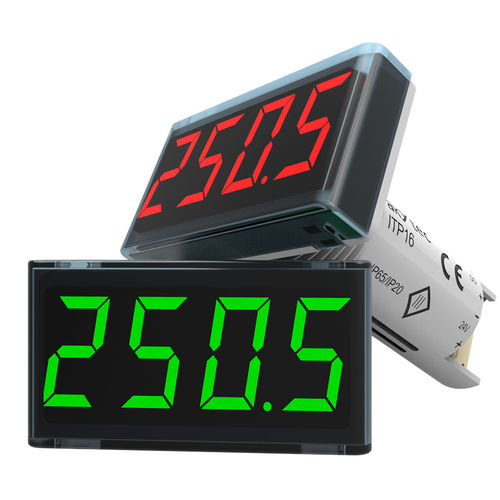 temperature indicator controller / process / digital / LED
