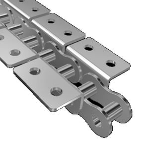Transmission chain / metal / roller / attachment - K2/02