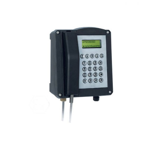 IP66 telephone / industrial / weather-resistant / wall-mounted