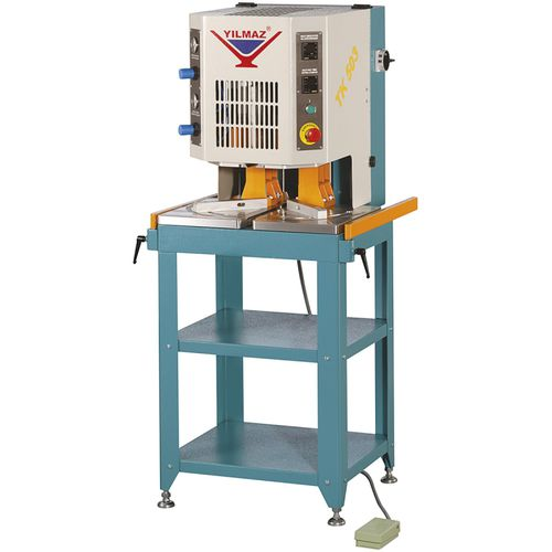 hot plate welding machine / AC / automatic / for PVC