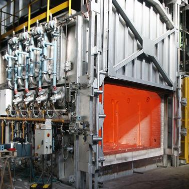 forging furnace / heat treatment / chamber / electric