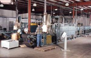 annealing furnace / brazing / conveyor / electric
