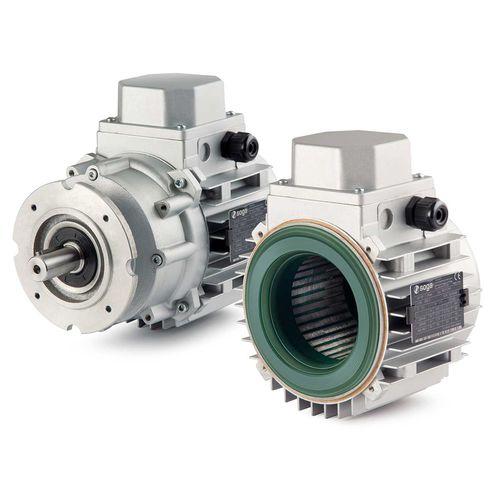 three-phase motor / asynchronous / 400 V / 220 V