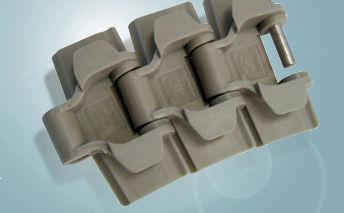 transmission chain / plastic / flat top