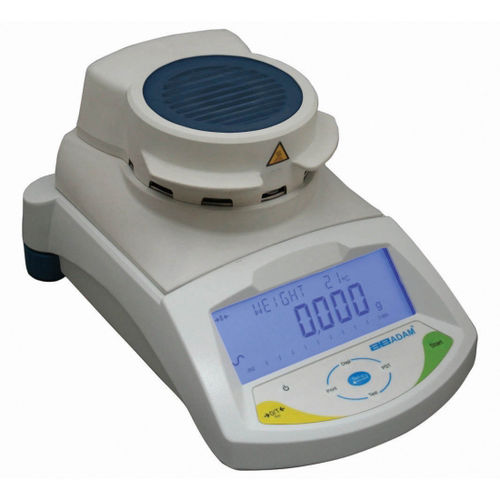 moisture analysis scale / with LCD display / stainless steel pan