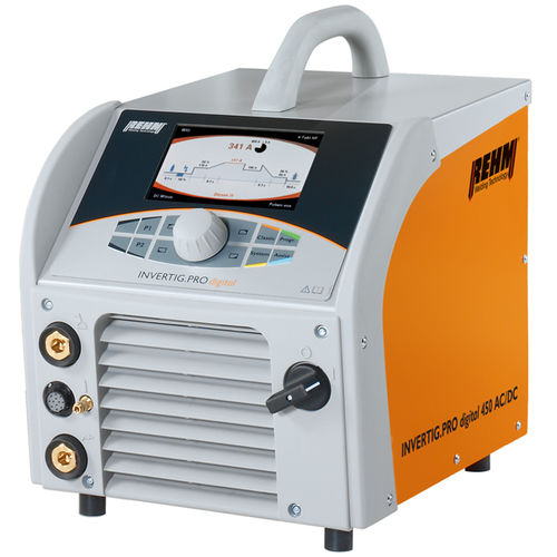 TIG welder / portable / electronic / inverter