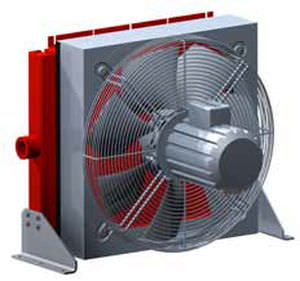 air cooler / for compressors / with AC motor