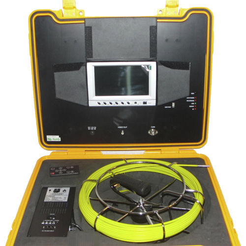 camera inspection system / for pipes / video / portable
