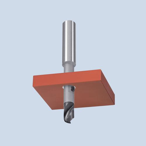 solid drilling tool / multi-purpose / carbide / chamfering
