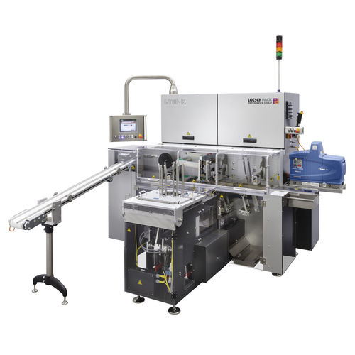 fold wrapping packaging machine / automatic / for confectionery products / for chocolate products