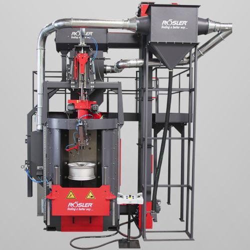 manual shot blasting machine / for metal / automatic