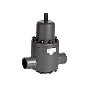 pressure-reducing valve / diaphragm / weld / PVC